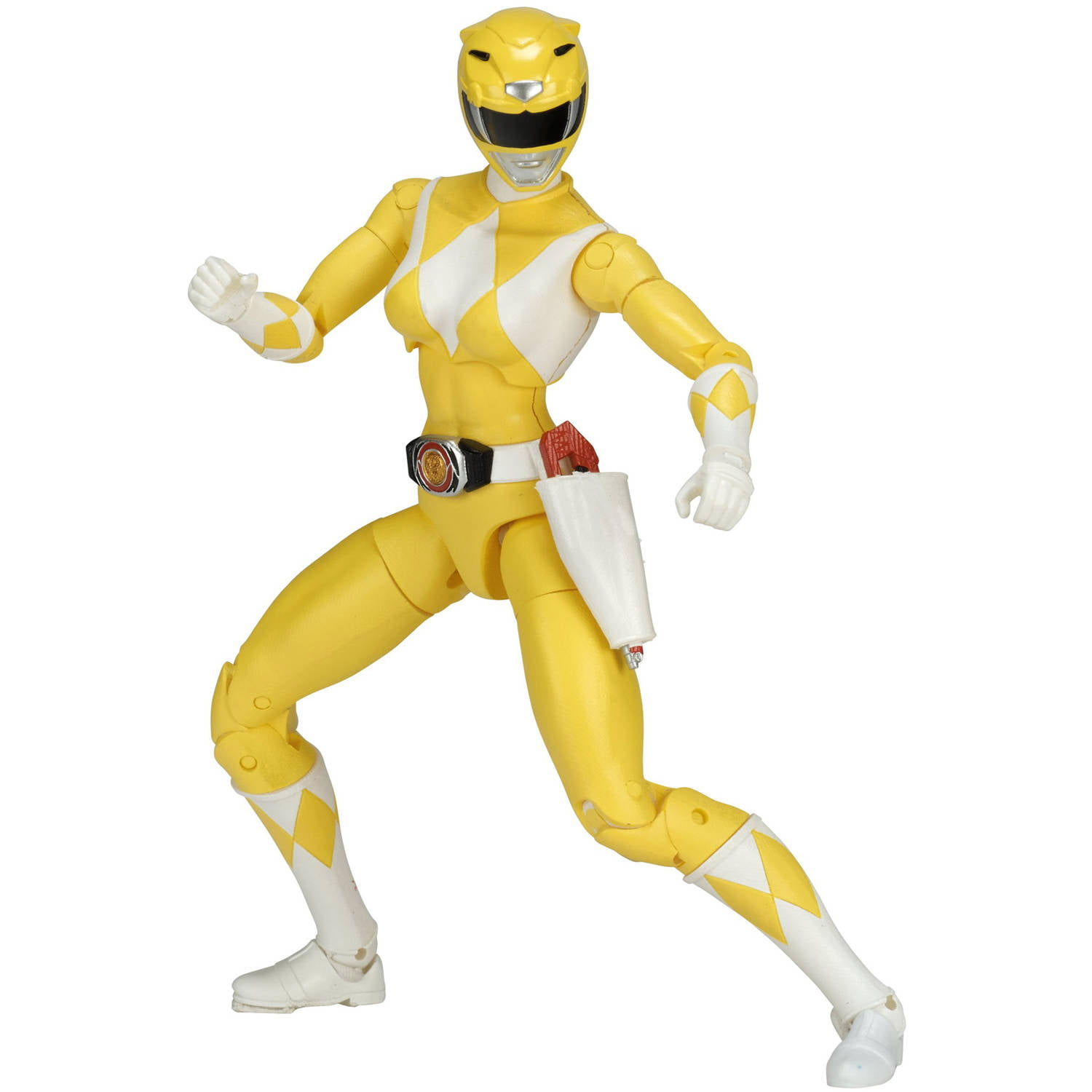 Power Rangers Legacy Mighty Morphin Yellow Ranger by Bandai America