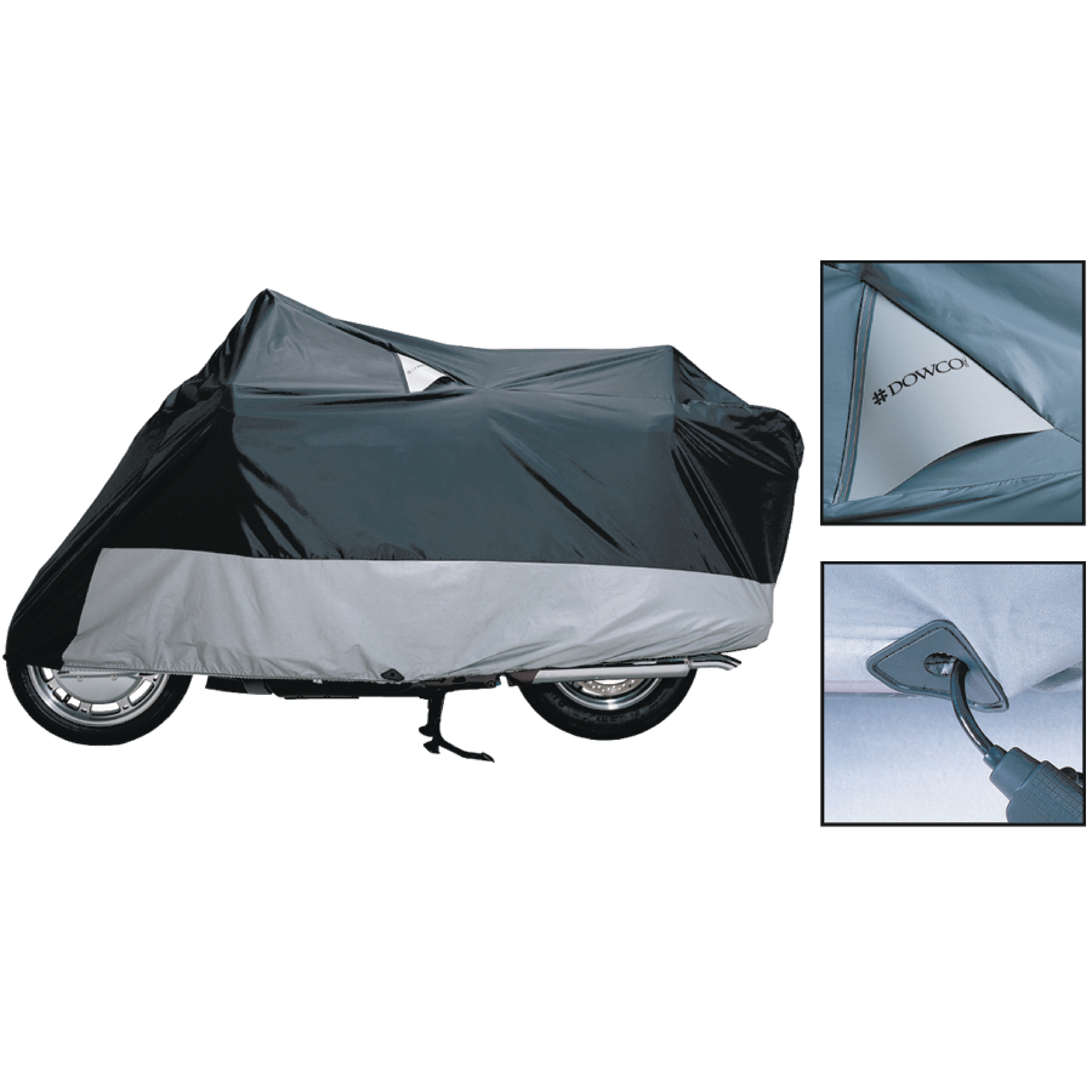 Dowco Guardian 50006-02 WeatherAll Plus Indoor/Outdoor Reflective Waterproof Motorcycle Cover for XXXL (Large Touring)