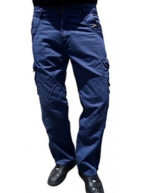104ac0b4510 Product Image Men's 100% Cotton Military Combat Multi Pockets Cargo Army  Pant WorkWear Trouser