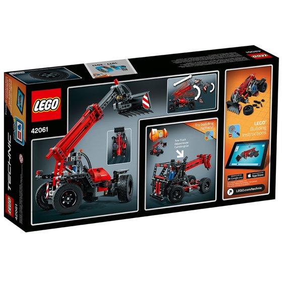 Lego Technic Telehandler 42061 Walmart