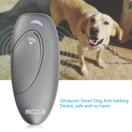 WALFRONT Ultrasonic Smart Dog Anti-barking Device Portable Bark Trainer Control Indoor Use, Portable Bark Trainer, Bark Trainer