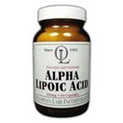Alpha Lipoic Acid 100mg Olympian Labs 60 Caps