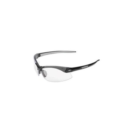 Frameless Safety Glasses : Frameless Safety Glasses, 1.5, Clear Lens, Black Frame ...