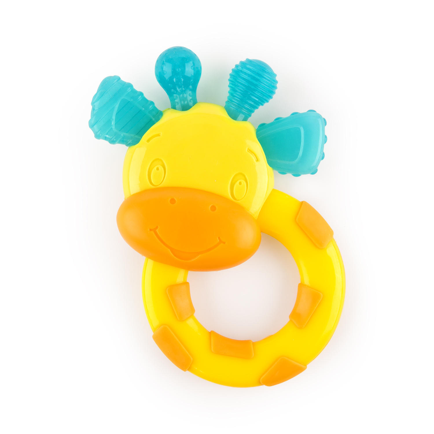 Bright Starts First Bites Easy-Grasp Stage 3 Teether Toy