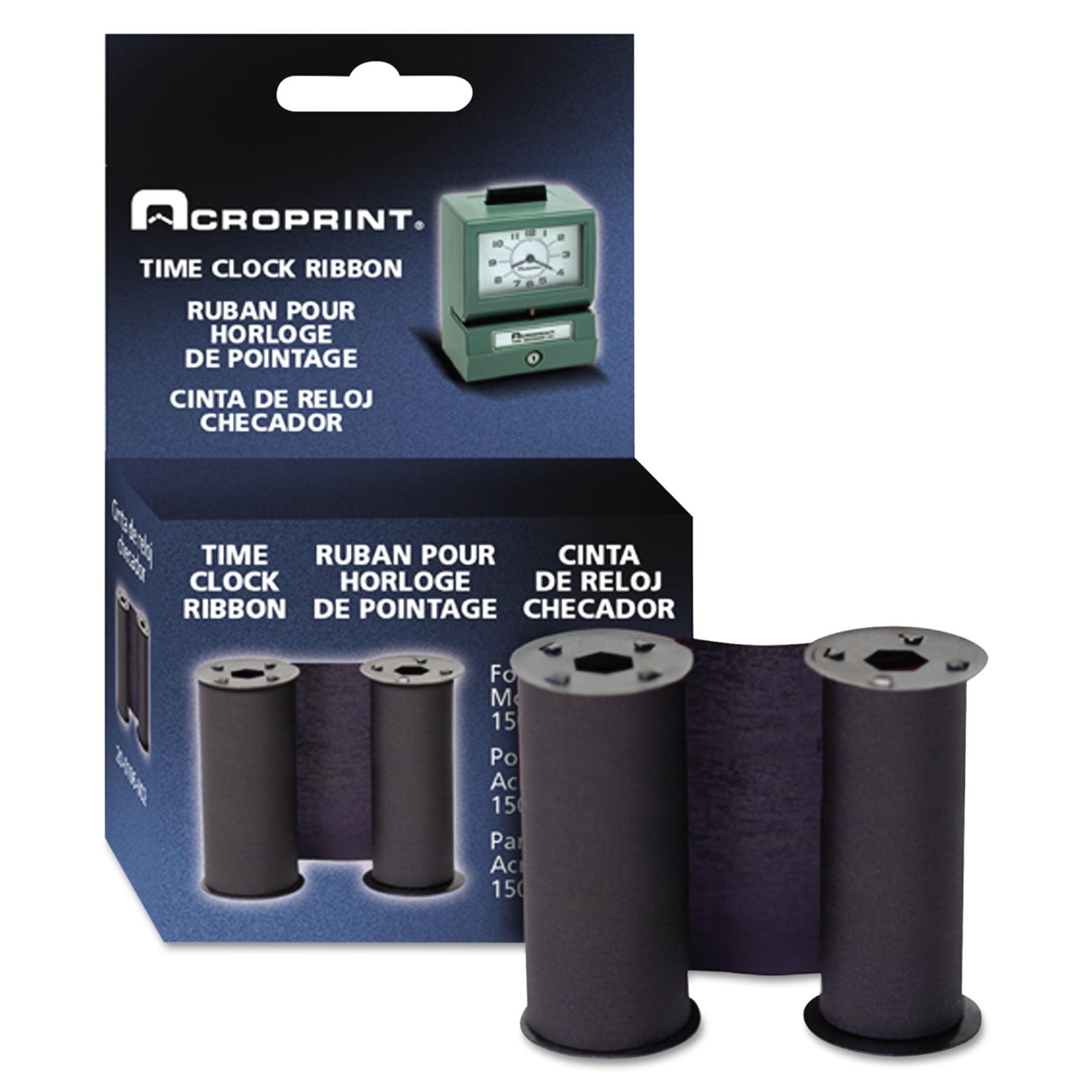Acroprint 200106002 Print Time Recorder Ribbon, Blue -ACP200106002