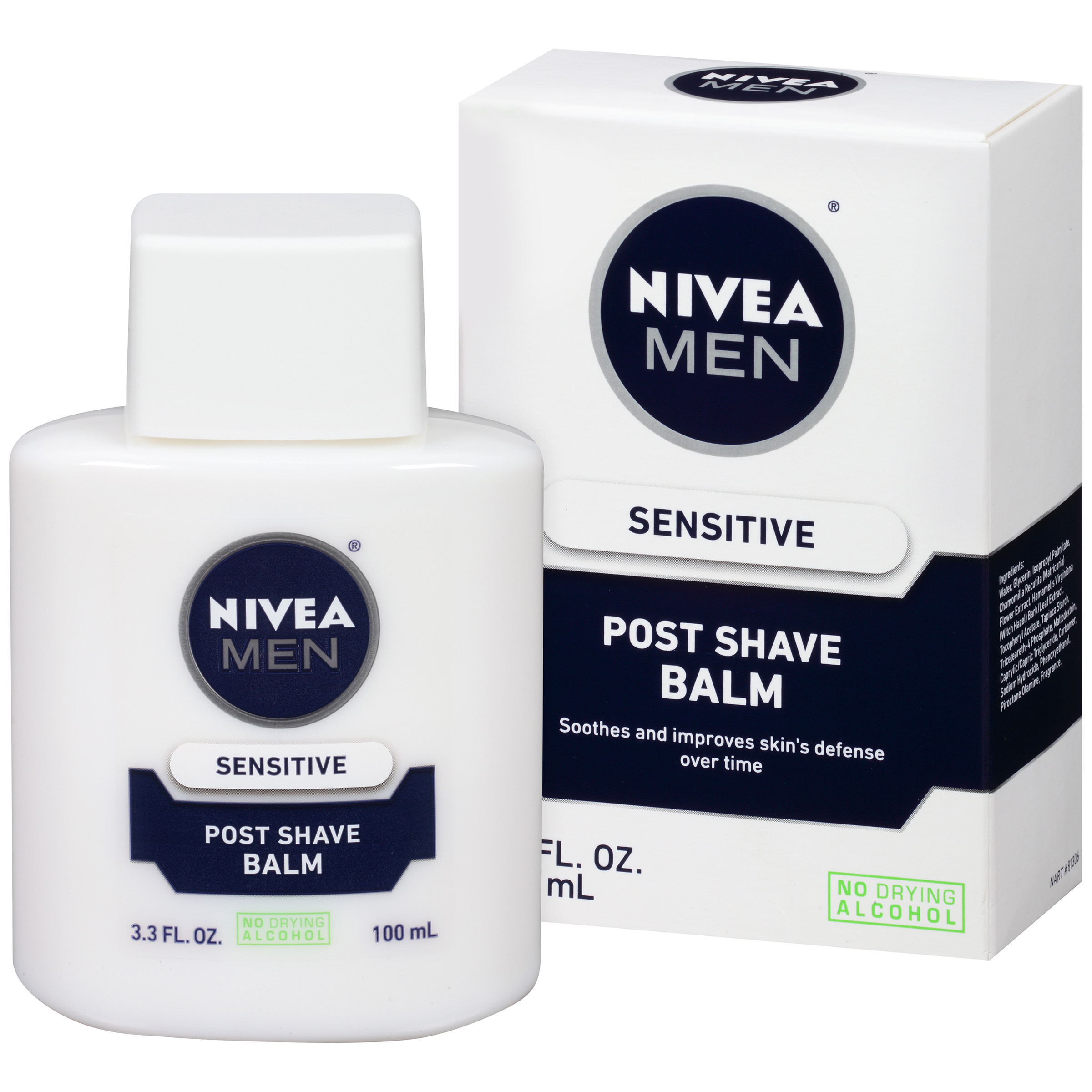 Nivea Men Sensitive Skin After Shave Balm, 3.3 oz - Walmart.com