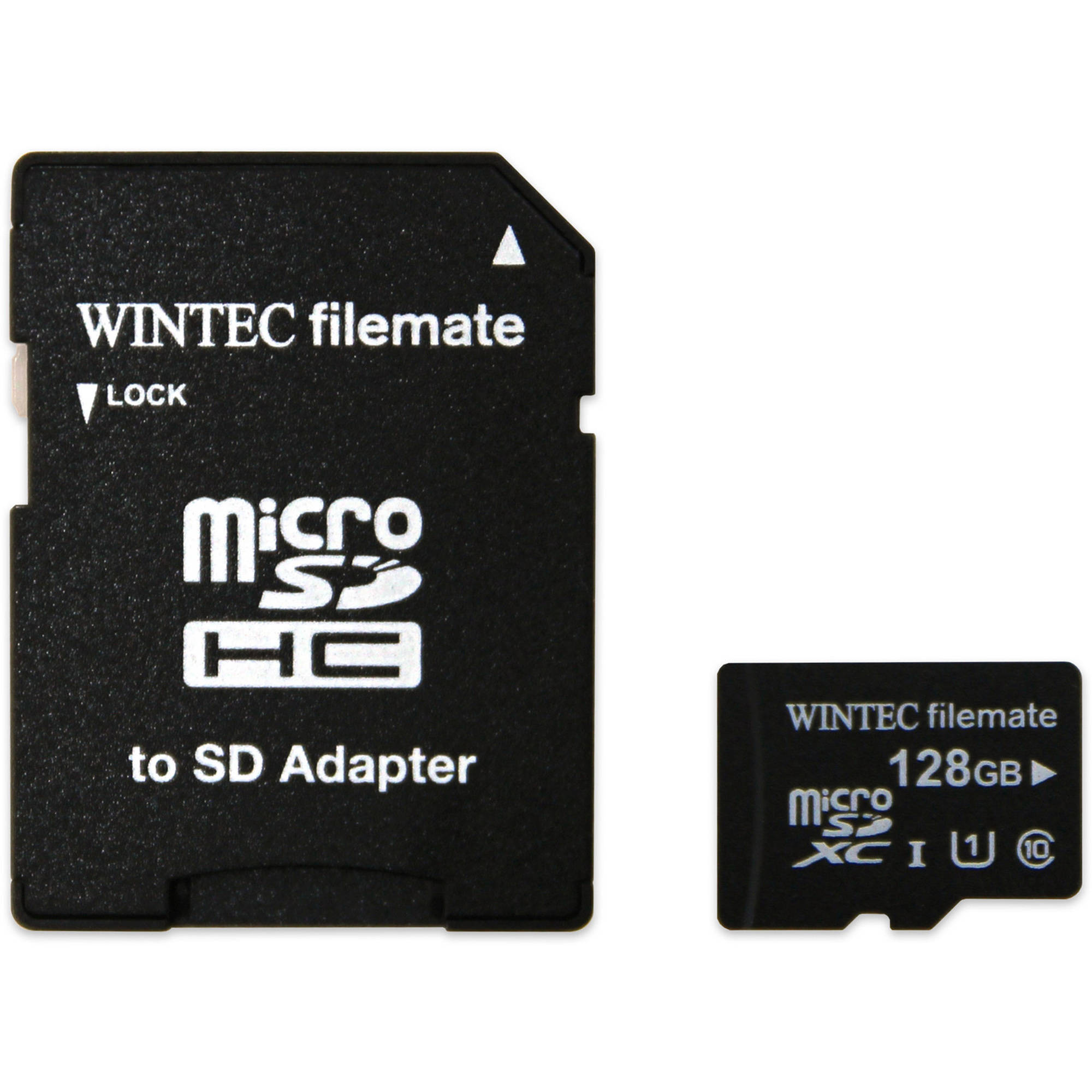 Wintec Filemate 128GB microSDXC Card with Adapter