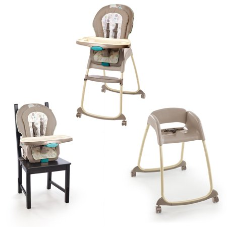 Heirloom High Chair - Ingenuity Trio 3-in-1 Deluxe High Chair - Sahara Burst