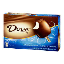 Dove Unconditional Chocolate Ice Cream, 15.1-Ounce Pint (8 Count)