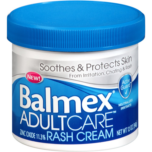 Balmex Adult Care Rash Cream, 12 oz