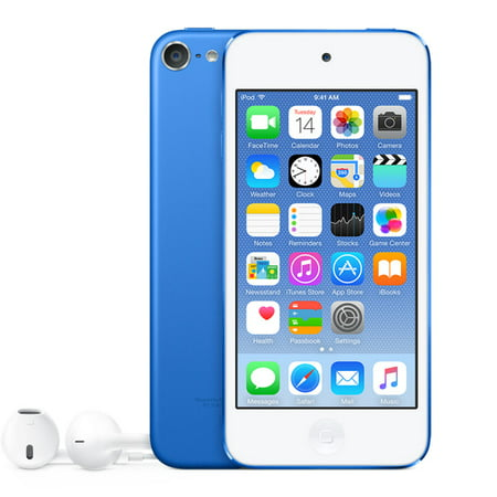 Refurbished Apple iPod Touch 6th Generation 32GB Blue (Data Plan For Ipod Touch 6th Generation)