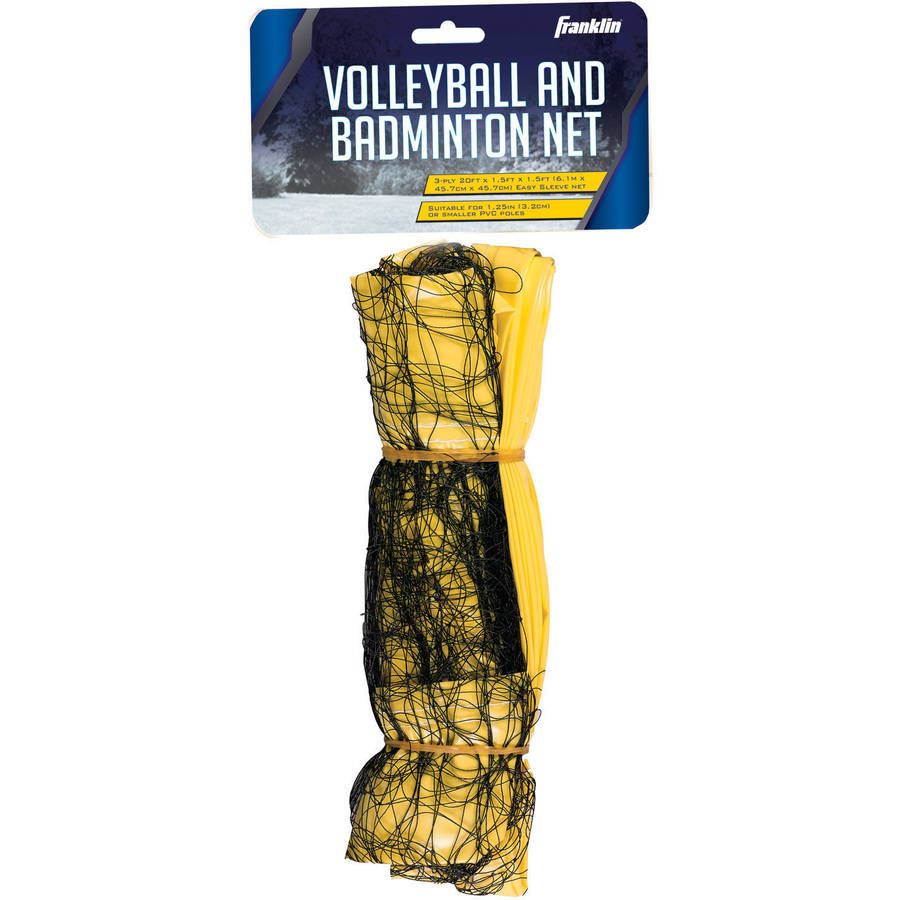 Franklin Sports Universal Fit Sleeve Badminton and Volleyball Net