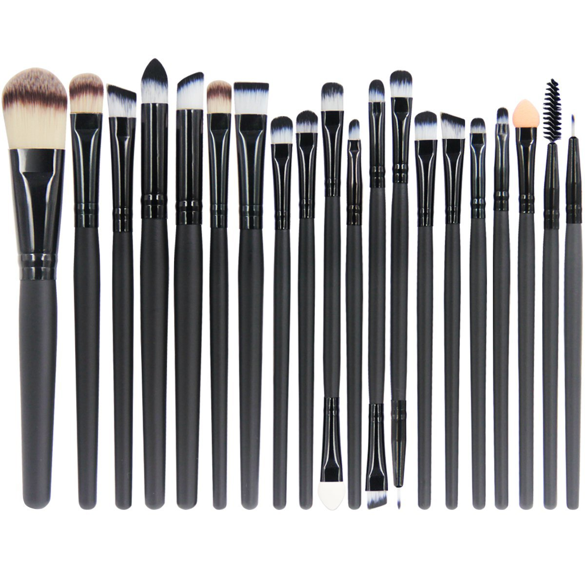 Vander 20Pcs Makeup Face&eye Powder Eyeshadow Eyeliner LA Lip Cosmetic Makeup Brushes