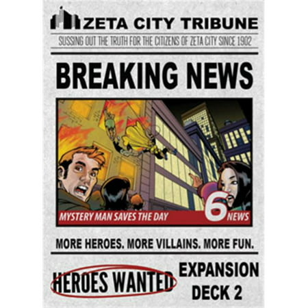 Ultra Pro Akg111 Heroes Wanted Breaking News