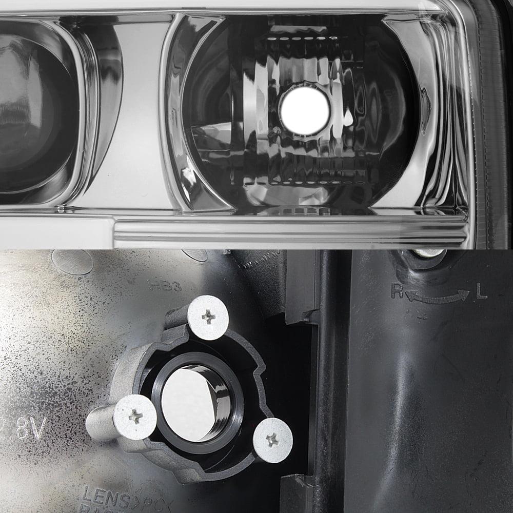 100W Halogen Passenger Side with Install Kit 2006 GMC YUKON XL Door Mount Spotlight -Chrome 6 inch