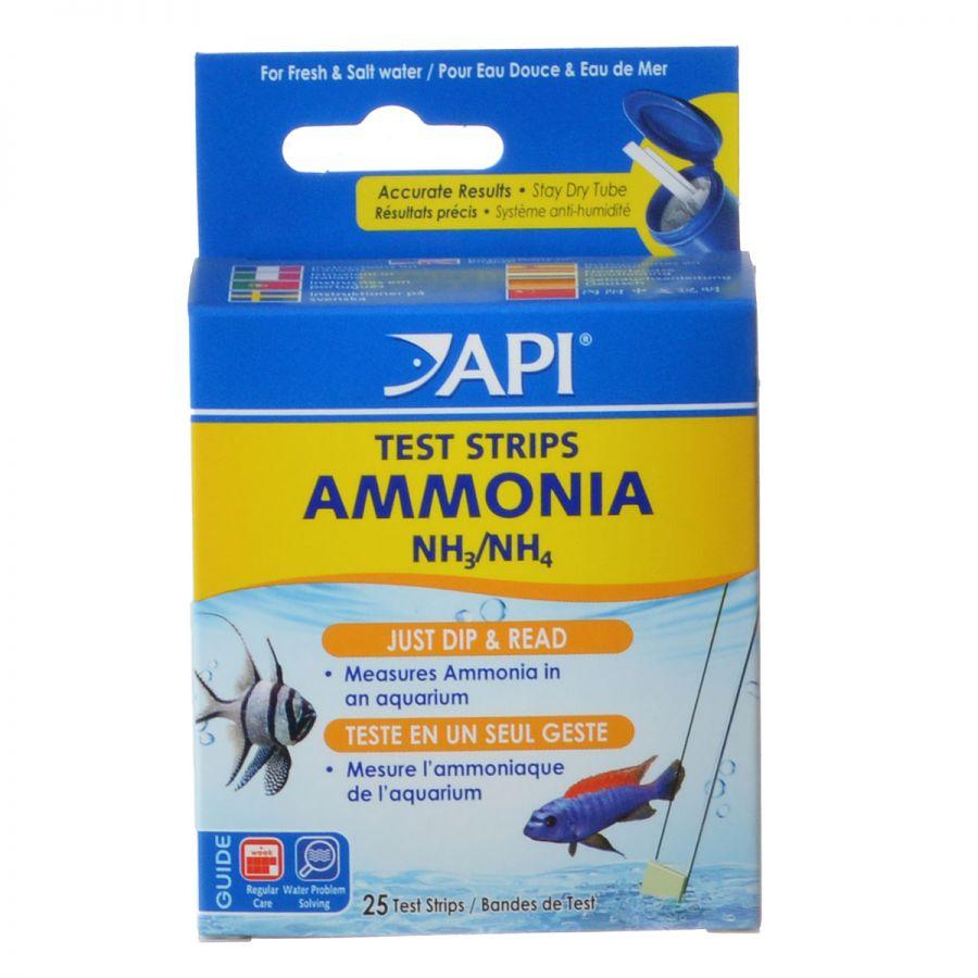 API Ammonia Test Strips 25 Strips - Pack of 3