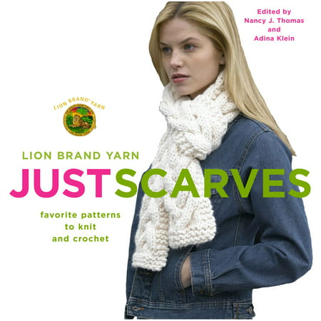 Lion Brand Yarn Just Scarves