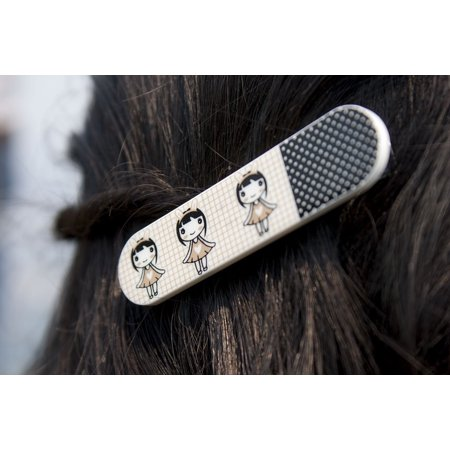 LAMINATED POSTER Hair Clip Hairstyle Clip Girl Female Style Hair Poster Print 24 x - 1970s Female Hairstyles