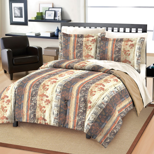 Free Spirit Rustic Floral Mini Bedding Comforter Set