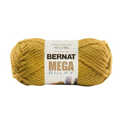 Bernat Mega Bulky Yarn, 200 grams, Gold