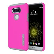 Incipio DualPro Case for LG G5 in Pink/Gray - LGE-293-PKG
