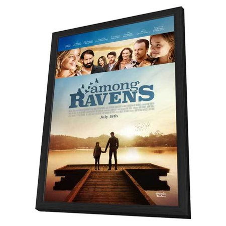 Among Ravens  2014  27X40 Framed Movie Poster