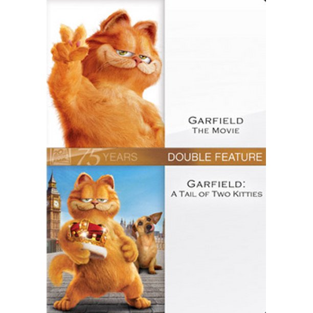 Garfield The Movie Garfield Tail Of Two Kitties Dvd Walmart Com Walmart Com