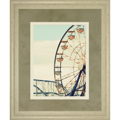 Classy Art Wholesalers Retro Ferris by Gail Peck Framed Photographic Print by Classy Art Wholesalers