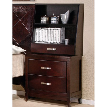 - Oasis Home Boulevard 2 Drawer Nightstand