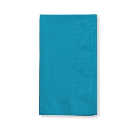 50 gorgeous Turquoise Dinner Napkins for Wedding, Party, Bridal or Baby Shower, Disposable Bulk Supply Quality!](Bulls Party Supplies)