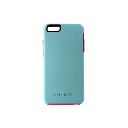 hot sale online a3ffe 199ad OtterBox Symmetry Case for iPhone 6 Plus / 6s Plus - Light Blue and Pink