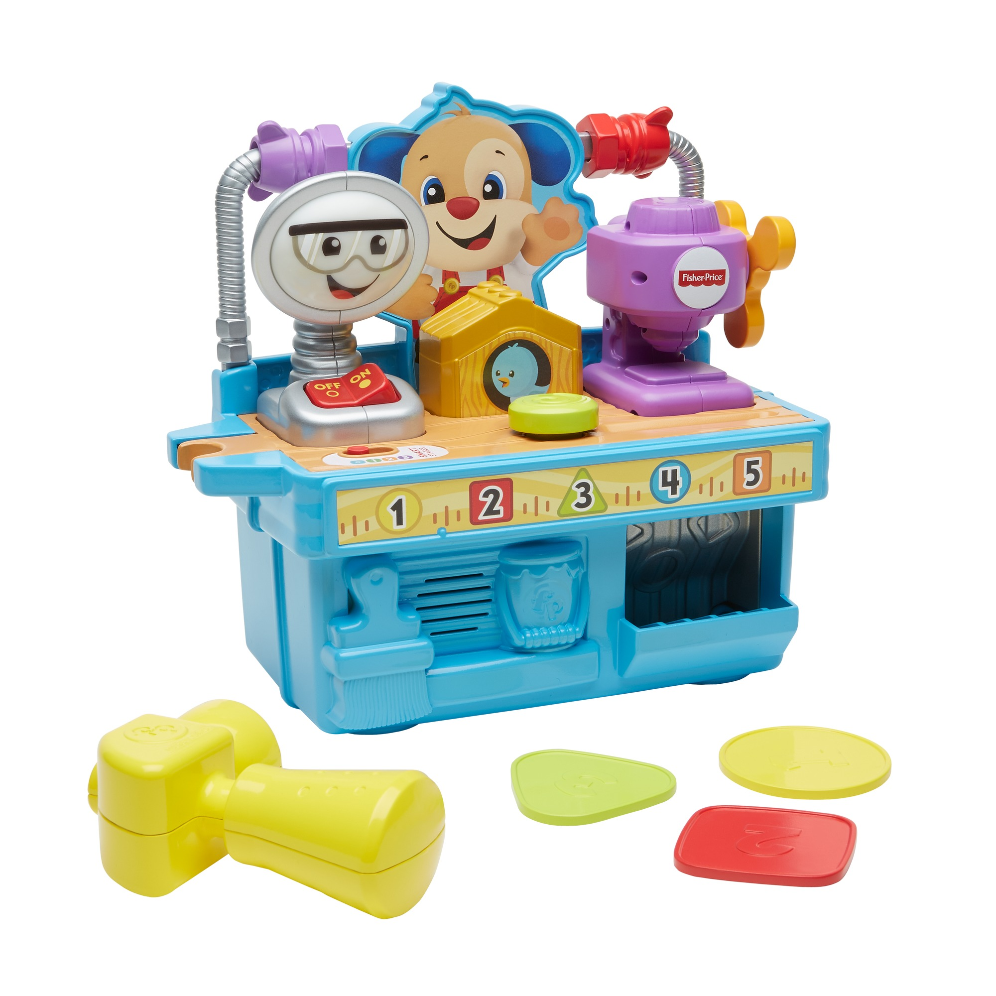 Fisher Price Laugh and Learn Role Play Tool Hammer Phone Role Play Gift Set 6-36