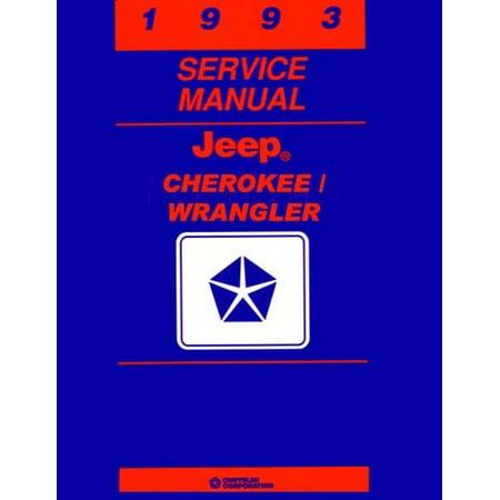 Bishko OEM Repair Maintenance Shop Manual Bound for Jeep Cherokee, Wrangler - Cherokee Parts Manual