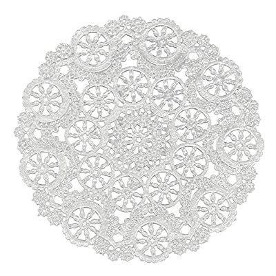 Royal Lace royal medallion lace round paper doilies, 10-i...