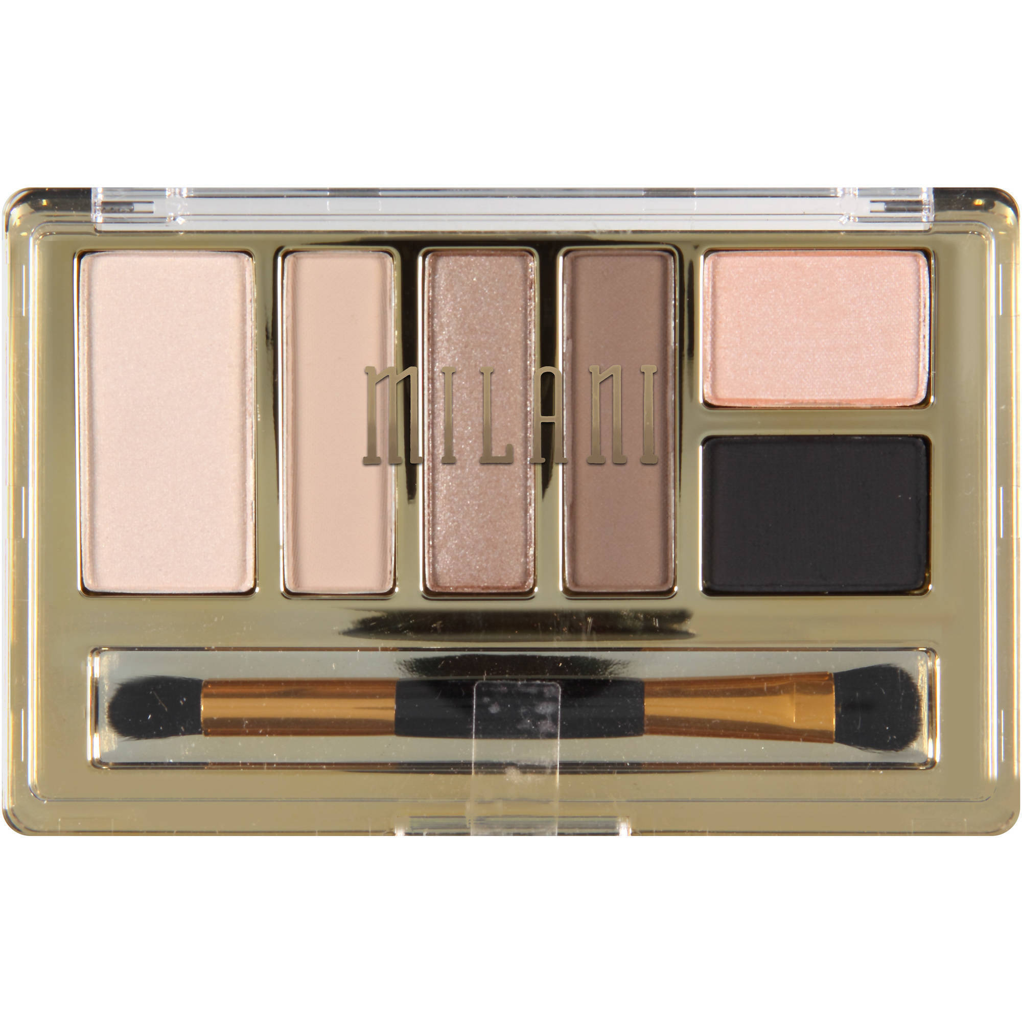 Milani Everyday Eyes Eyeshadow Collection, 01 Must Have Naturals, 0.21 oz