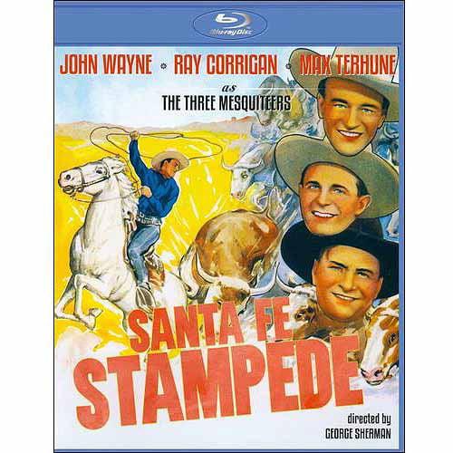 Santa Fe Stampede (1938) (Blu-ray) (Full Frame)