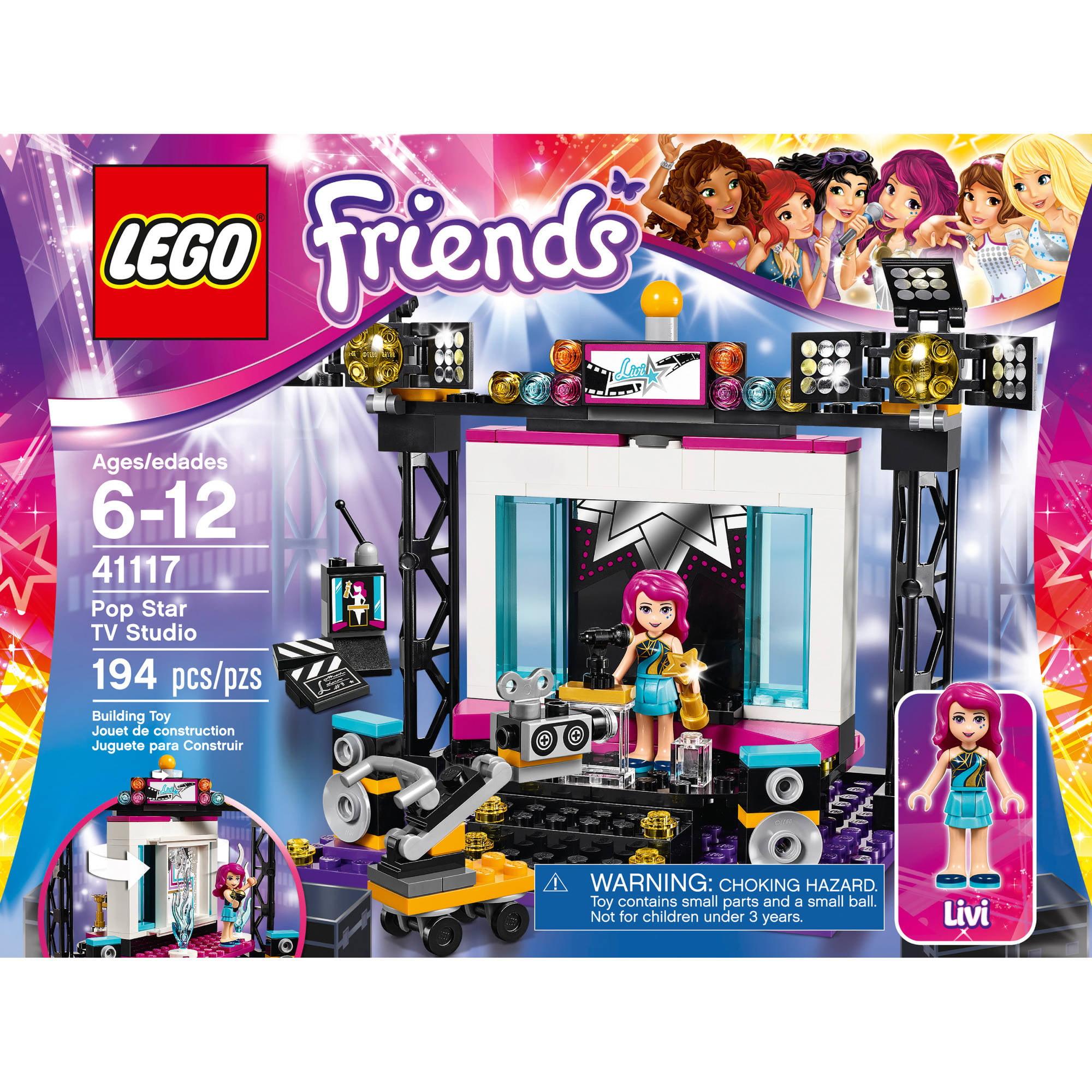 Lego Friends Pop Star Tv Studio 41117 Walmartcom