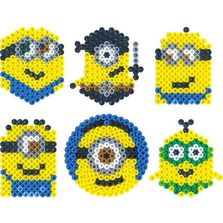 Perler Despicable Me 3 Fused Bead Bucket- - image 2 of 3
