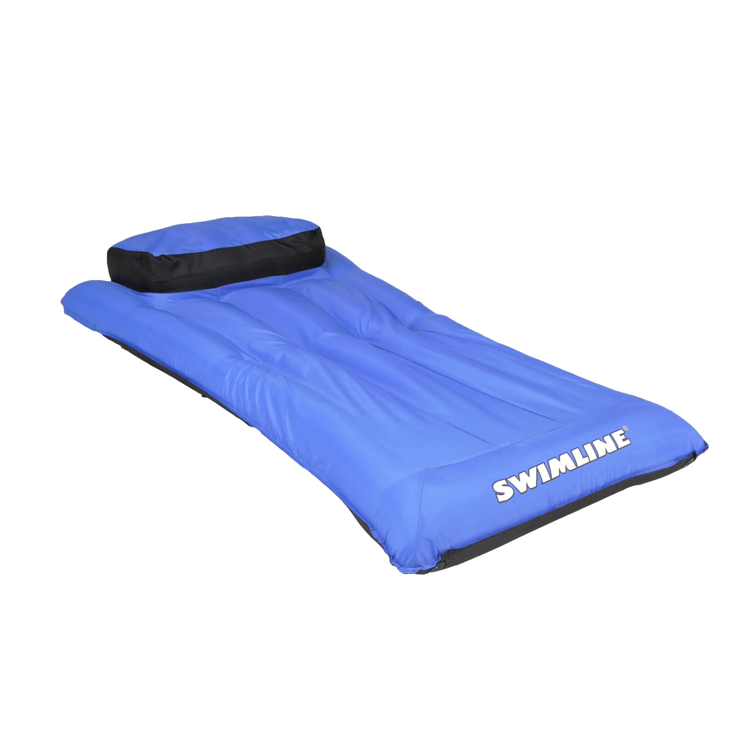 """Swimline 78/""""L x 34/""""W Swimming Pool Ultimate Super Sized Mattress Float Blue"""