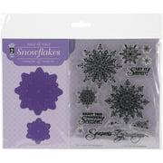 Hot Off The Press Stamp & Die Set, Snowflake