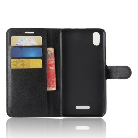 Magnetic TPU Leather Flip Stand Case Cover Skin Card Slot For Wiko Lenny 4 Plus - image 5 of 6
