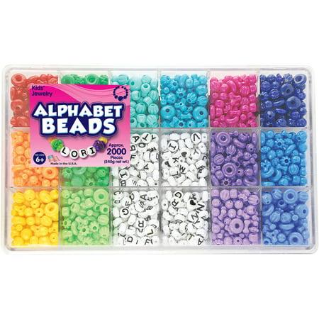 The Beadery Alphabet Craft Bead Box, 1 Each](Beads By The Dozen)