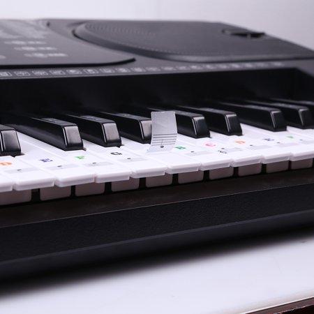Piano Laminated Sticker Keyboard Set Educational Toys - image 6 de 7