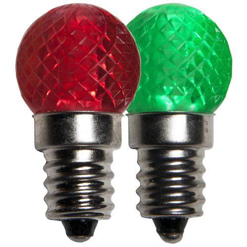 Wintergreen Lighting G20 Multicolor 130-Volt LED Light Bulb (Pack of 25)