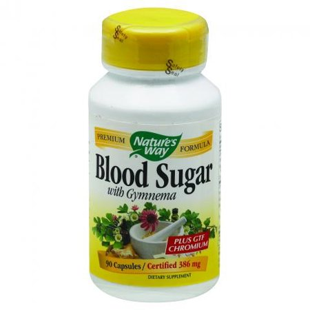 Nature's Way Blood Sugar with Gymnema, 90 Capsules for $<!---->
