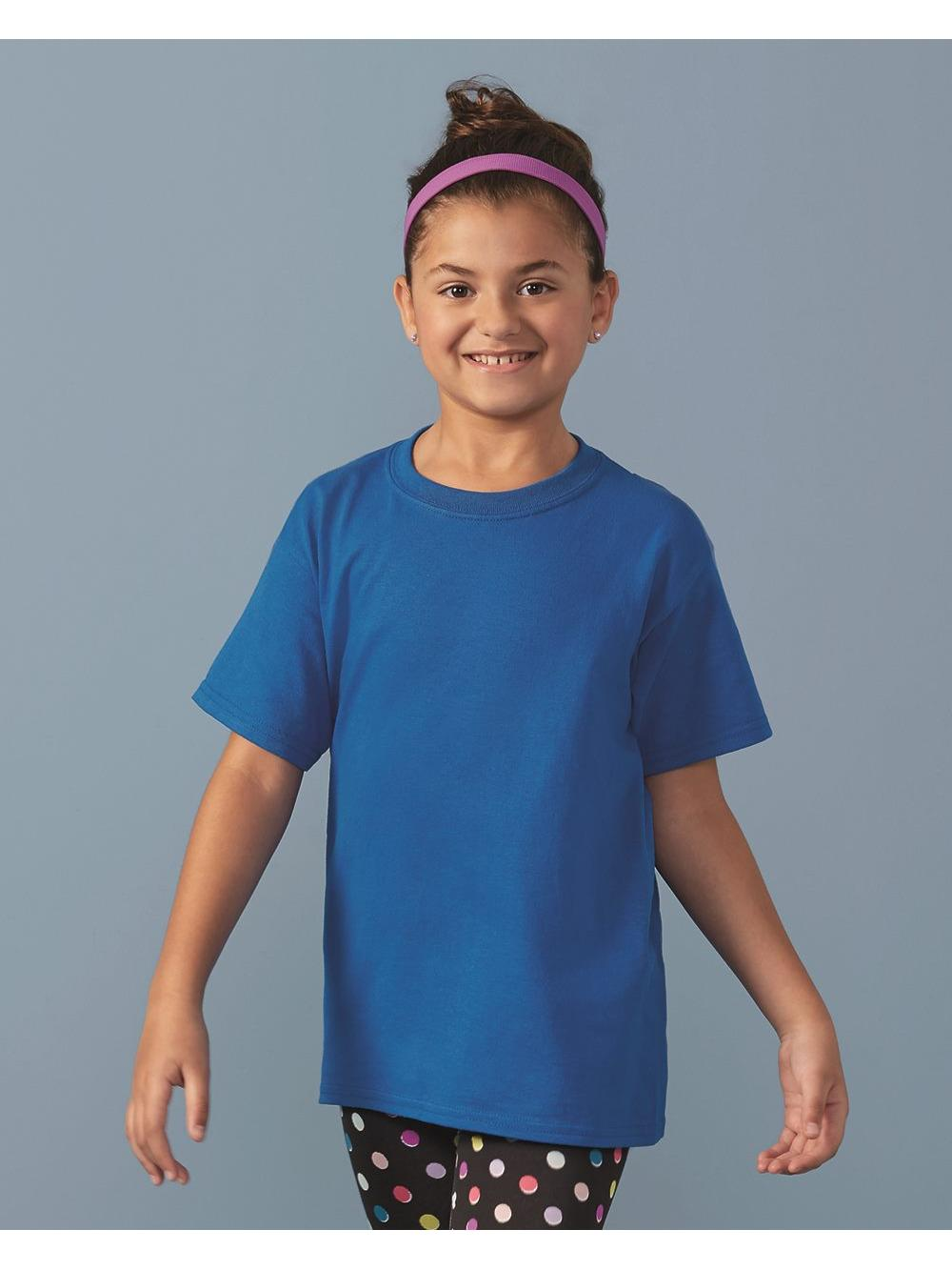 Gildan T-Shirts Heavy Cotton Youth T-Shirt
