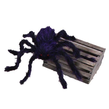 Scary Hairy Posable Halloween Spider 50