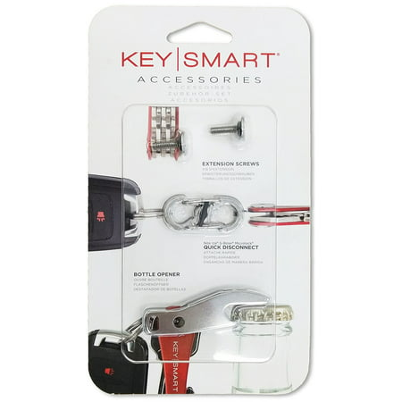 KeySmart Accessory Pack Expansion Pack-14 Keys with Quick Disconnect and Bottle Opener](Key Bottle Openers)