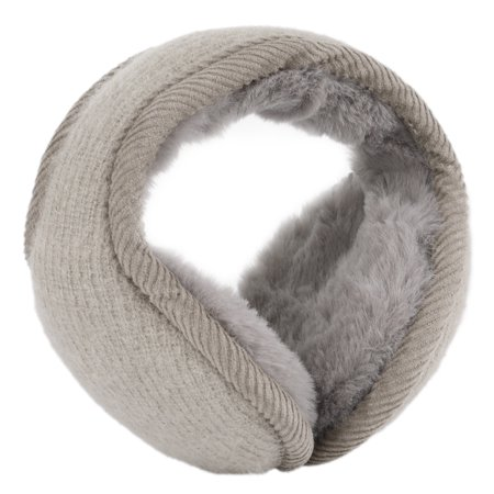 Warm Foldable Winter Knit Earmuffs for Women Men Khaki - image 5 de 5