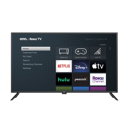"onn. 42"" Class FHD (1080P) LED Roku Smart TV (100018254)"